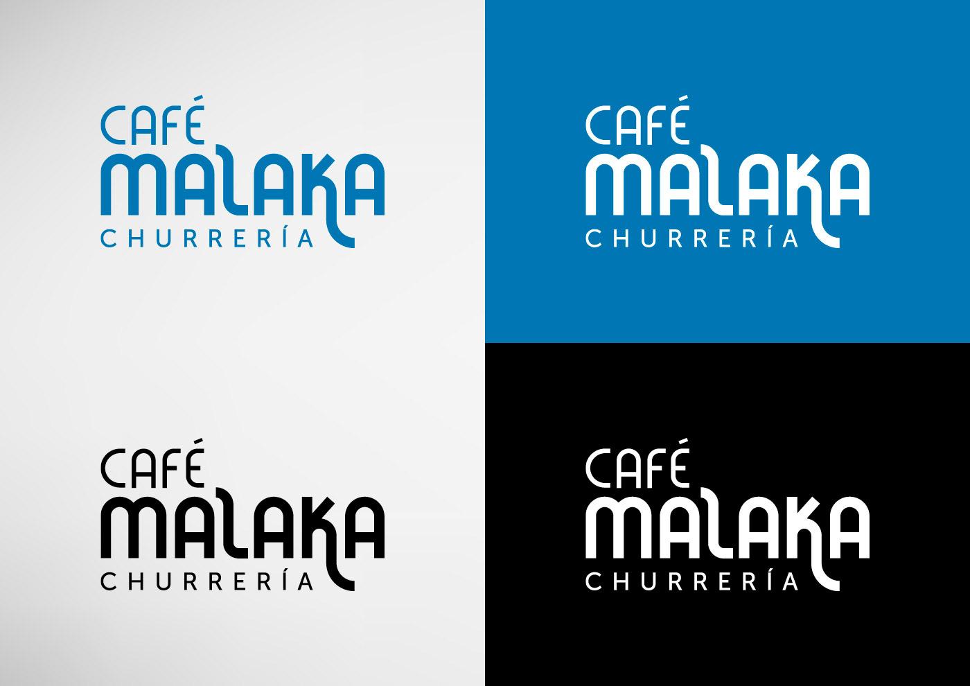 Café Malaka - Imagen corporativa - Logotipo - Ivan Diez