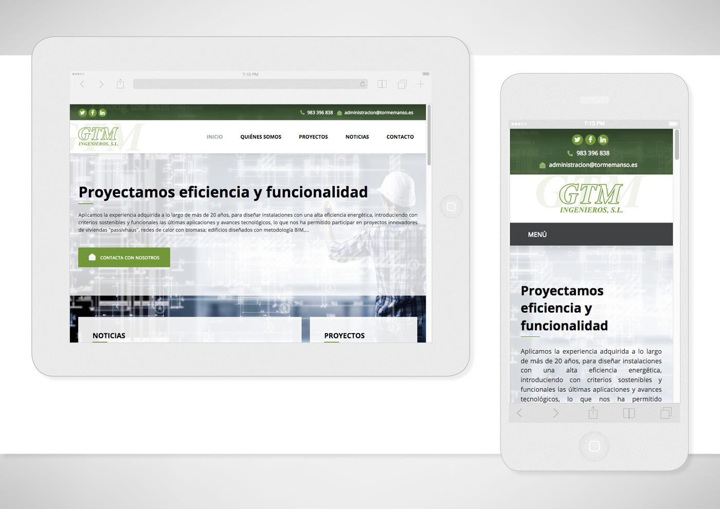 GTM Ingenieros - Web - Ivan Diez