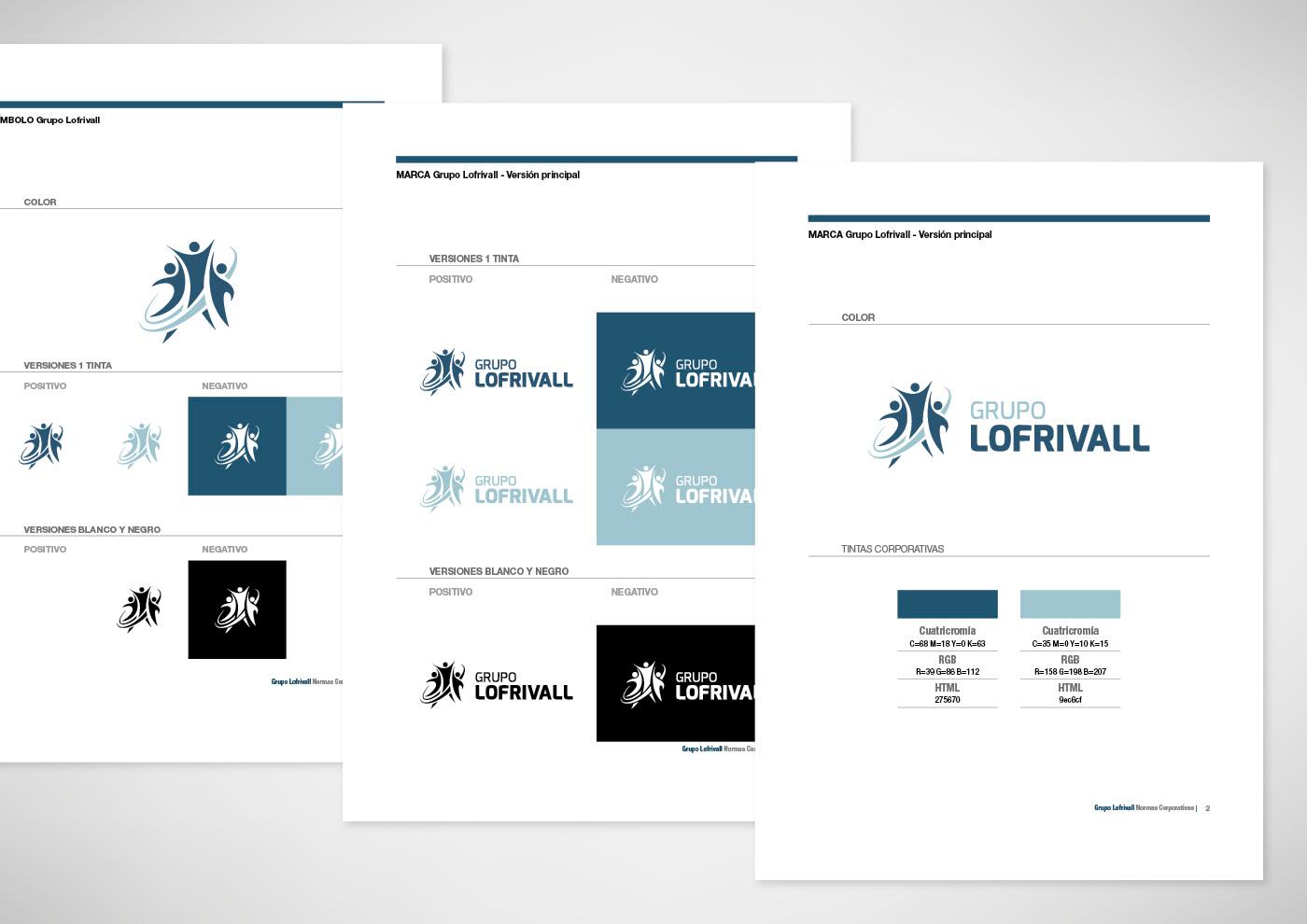 Grupo Lofrivall - logo - Ivan Diez