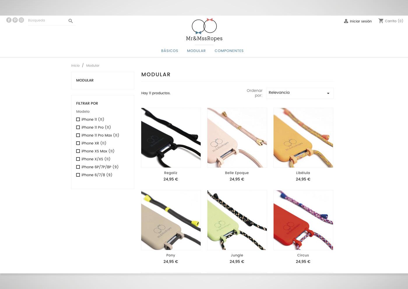 Mr&Mss Ropes - Web - Tienda online - Ivan Diez