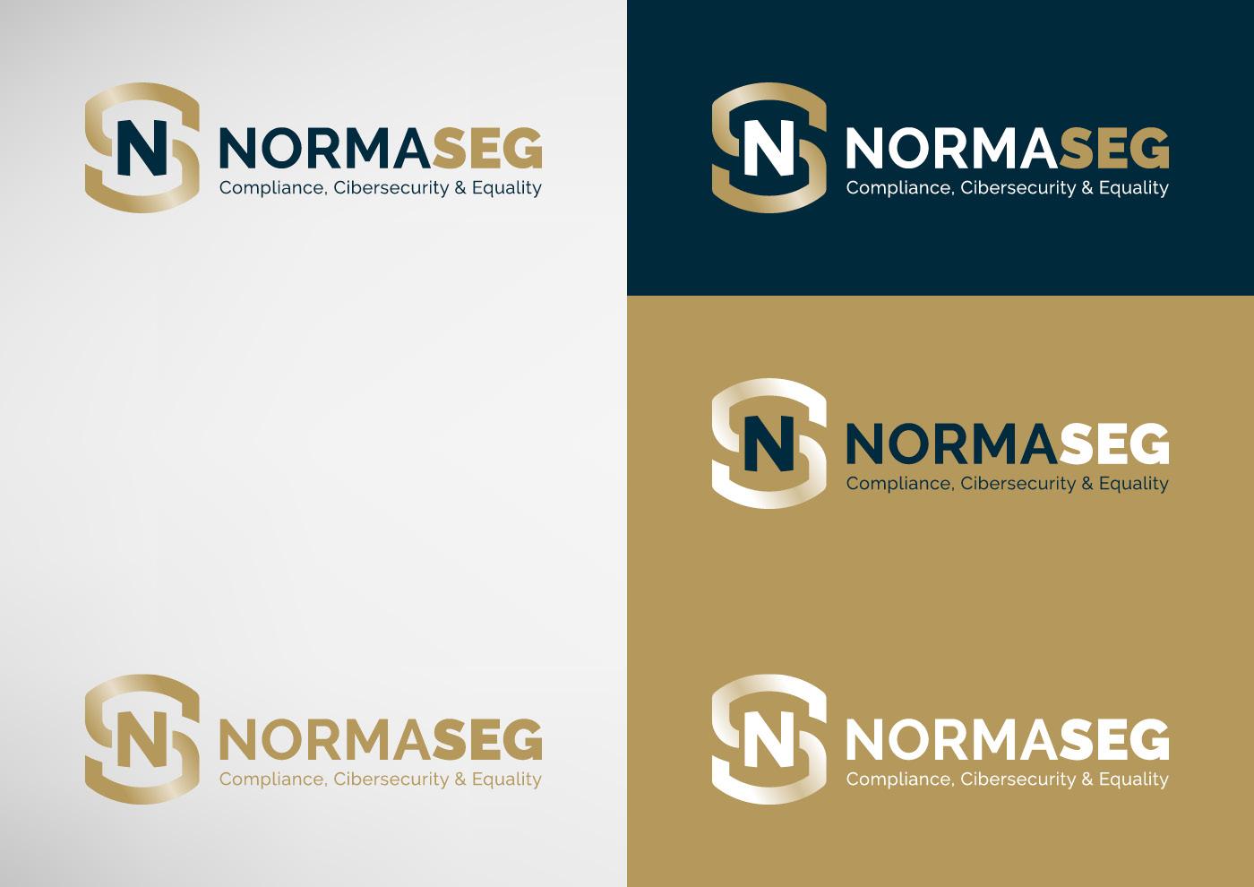 Normaseg - Imagen corporativa - Logotipo - Ivan Diez