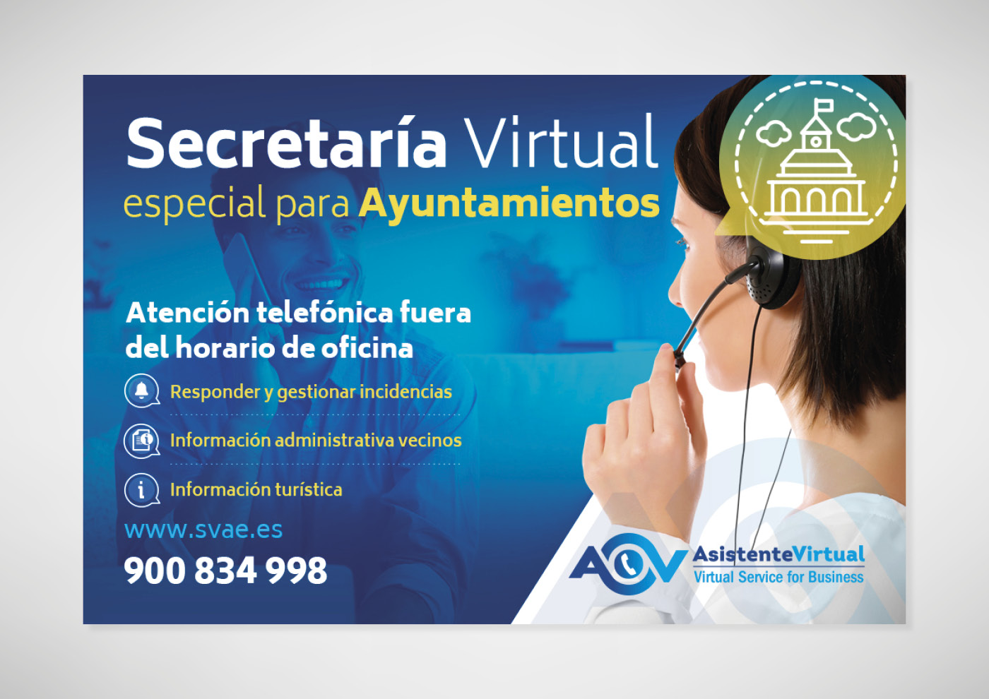 Asistente Virtual - Anuncio secretaría virtual - Ivan Diez