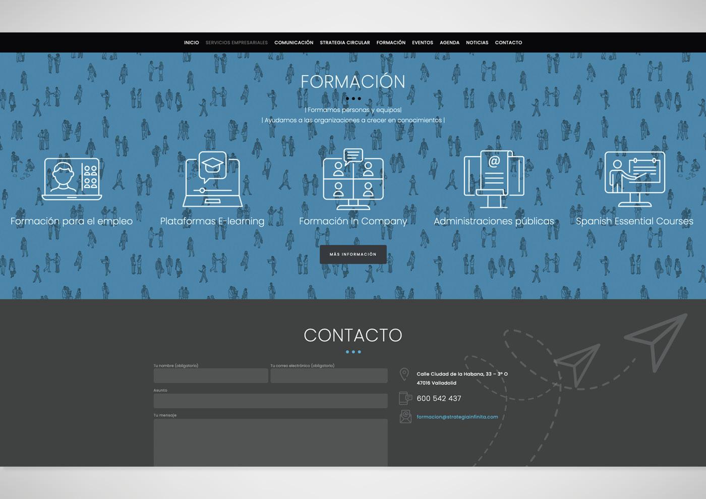 Strategia Infinita - Web - Ivan Diez