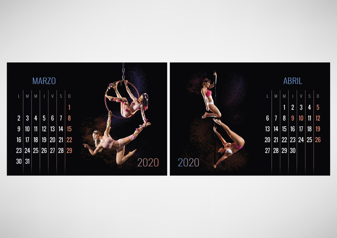 Vaya Huellas - Calendario 2020 - Ivan Diez