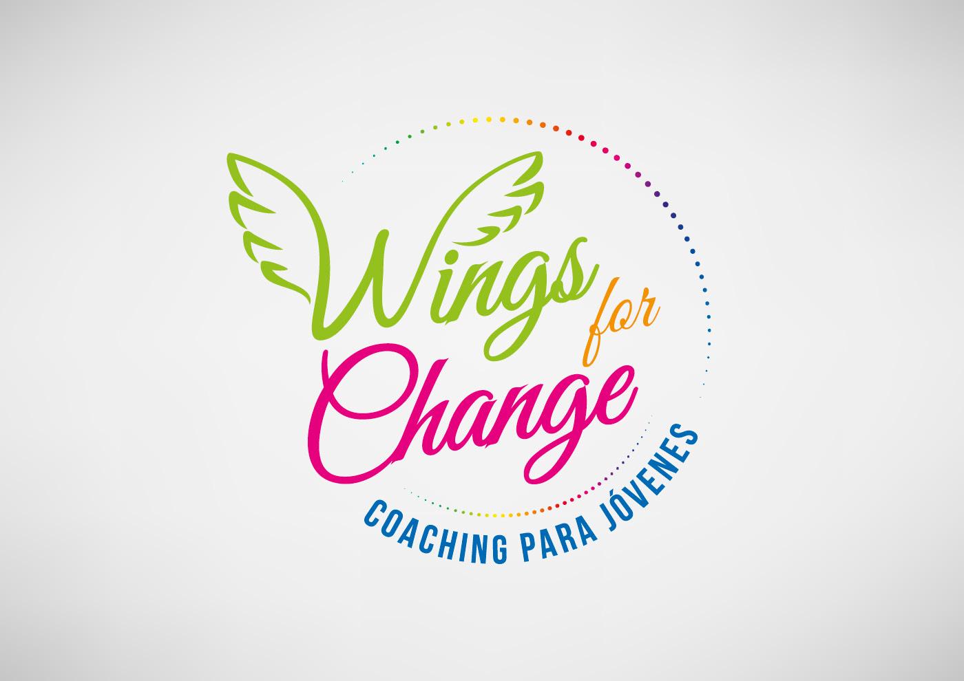 Wings for Change - Imagen corporativa - Diseño de marca - Ivan Diez